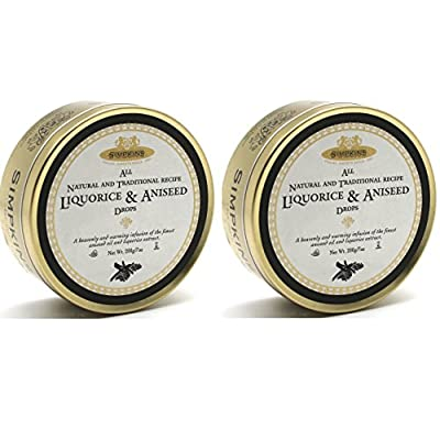 licorice and aniseed classic travel sweets by simpkins 2 pack Licorice and Aniseed Classic Travel Sweets By Simpkins 2 Pack 51sCo0AfxRL