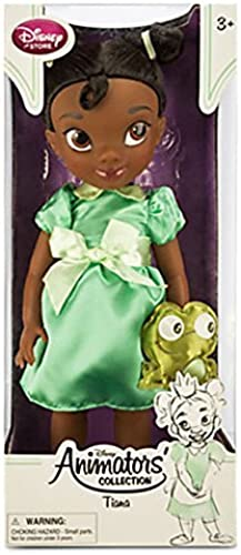 la mejor selección de Disney Animators' Collection Princess Tiana Toddler Doll - 16 with with with Plush Frog Friend by Disney  en stock