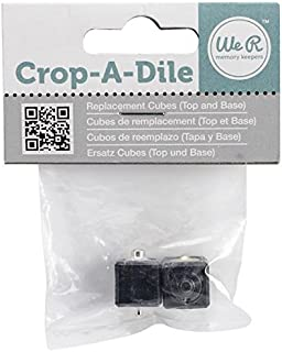 We R Memory Keepers 70971-8 - Crop-A-Dile Replacement Cubes