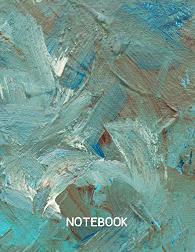 Note, Notebook: Impasto Ocean Seashore Notebook Lined Notebook Journal