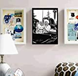 Framed Marilyn Monroe holding Hello Kitty faux signed autograph Limited Edition Print