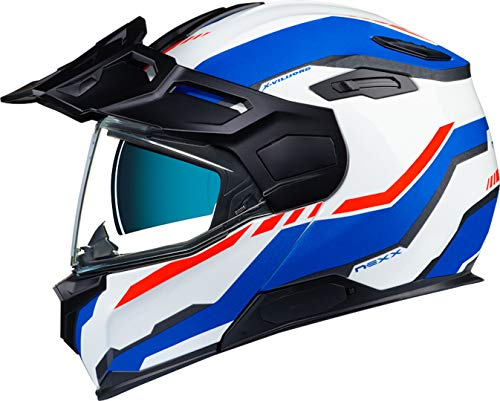 Nexx X.Vilijord Continental Helmet Casco blanco/azul/rojo XL (61/62)