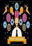 Open your Mind: kreatives Notizbuch für kluge Köpfe