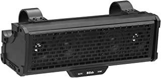 BOSS Audio Systems BRRC14 14 Inch ATV UTV Sound Bar - IPX5 Weatherproof, 3 Inch Speakers, 1 Inch Tweeters, Built-in Amplifier, Bluetooth Audio, Built-in Dome Lights, Ideal for 12 Volt Vehicles