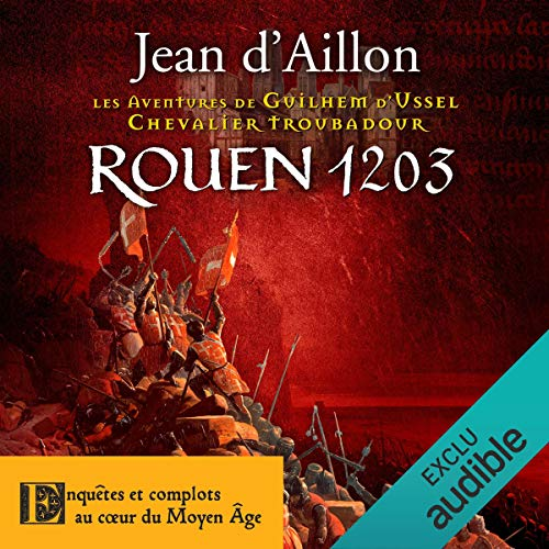 Rouen, 1203 audiobook cover art