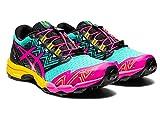 ASICS Zapatillas de running Gel-Fujitrabuco Sky para mujer, azul (Copa de Mar/Rosa Glo), 40 EU