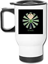 Mr Mackey Retro Japanese South Park 16 Oz Stainless Tumbler Double Wall Vacuum Coffee Mug With Splash Proof Lid For Hot & Cold Drinks