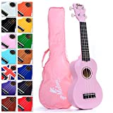 Best Pink Soprano Ukulele with Bag, plus 150+ downloadable pages of Uke Songs