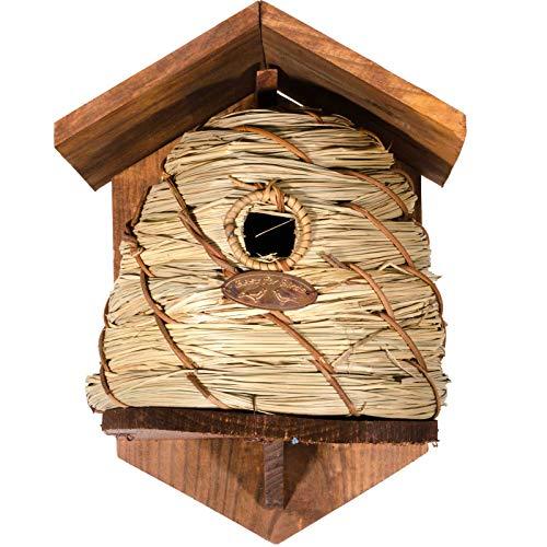 SIDCO Nistkasten Meise Vogelhaus Bienenkorb Brutkasten Blaumeise Nisthöhle Garten Deko