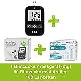 Adia Vorteilspack Blutzuckermessgerät-Set