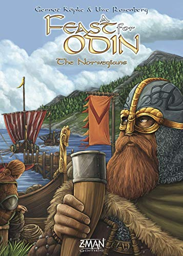 ZMan Games A Feast for Odin: The Norwegians