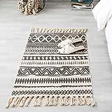 xiuinserty Teppich für Baumwollleinen Quaste Teppich Schlafzimmer Tür Decke Tea Area Home