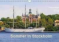 Sommer in Stockholm 2022 (Wandkalender 2022 DIN A4 quer): Impressionen einer Stadt und ihrer zauberhaften Umgebung (Monatskalender, 14 Seiten )