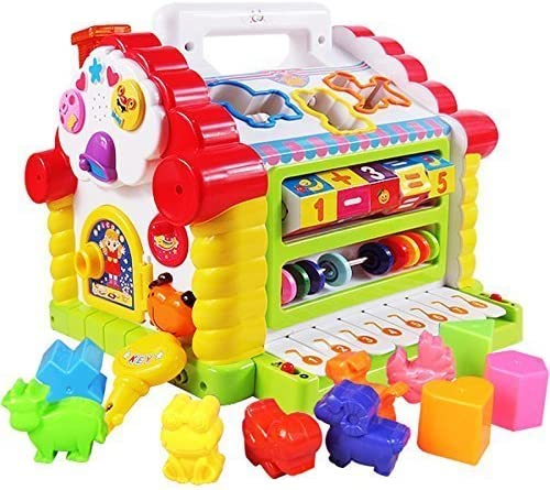 smartcraft colorful and attractive funny cottage educational toy, learning house - baby birthday gift for 2 3 year ol...