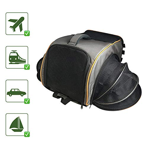 Pet Magasin Pet Travel Carrier Backpack Transportation Kennel, Large