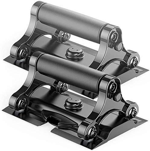 WLC Push-Ups Heimfitnessgeräte Push-Up Griffe mit gepolstertem Schaumstoff-Griffe und rutsch Robuste Konstruktion-Floor Gather Griffe Platte mit Bremse (Size : 1)