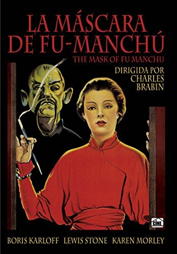 THE MASK OF FU-MANCHU (la mascara de fu-manchu) NON US FORMAT - Region 2 - PAL