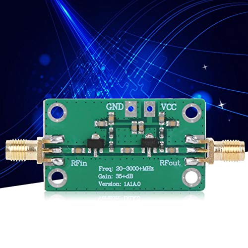Ampliamente utilizado amplificador RF de fácil instalación, módulo de radio, receptor de doble eficiencia para