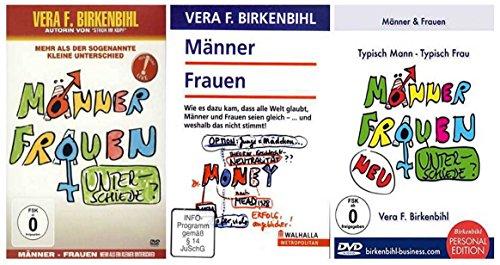 Vera F. Birkenbihl - Männer und Frauen - The Complete Edition [3 DVDs]