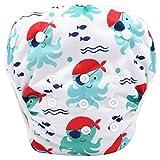 Storeofbaby Pañal lavable bebé nadar para niños y niñas cubierta lavable 0-3 años