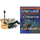 Ibanez V50NJP-NT Chitarra, Naturale, Full Size & Carisch Manuale completo di chitarra. Corso per principianti. Con espansione online