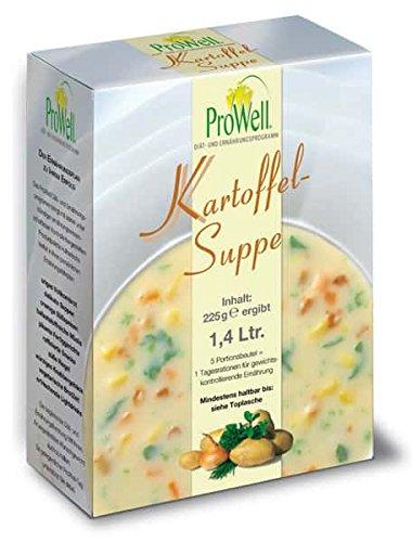 ProWell Diät- und Ernährungsprogramm - Kartoffelsuppe - 225 g (5 Portionen)