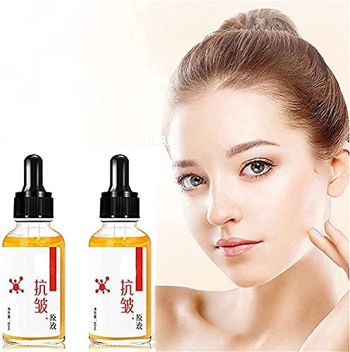 Activeskin Advanced Ageless Serum, suero antienvejecimiento sin Arrugas, Aceite de Esencia Facial Antiarrugas para la Piel para Mujeres y Hombres (2 Piezas)