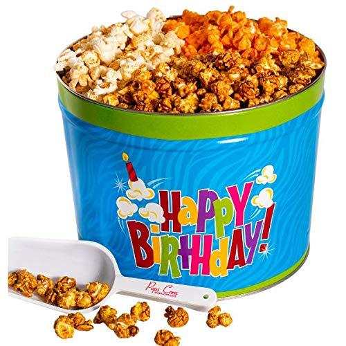 Pops List price Corn - Happy Birthday New life Gourmet Gall Popcorn 2 Gift Tin-Large