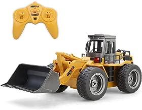 Ranoff 1:18 RC Truck 6CH Bulldozer Tractor Remote Control Simulation Constructio Toys