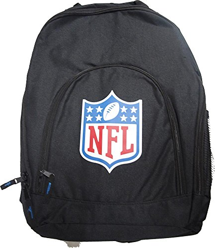 Forever Collectibles NFL Logo Back To School Backpack Black Bag Rucksack Tasche
