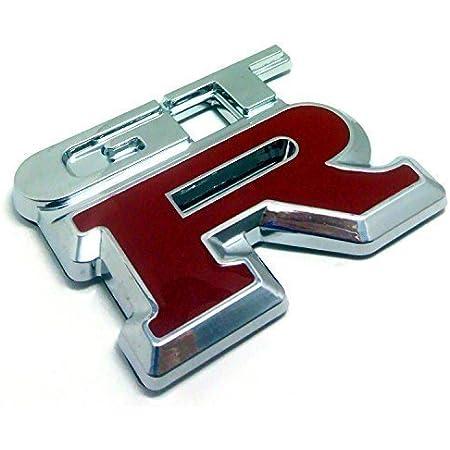 (maximaselect) GT-R GTR エンブレム メッキ 汎用 装飾 レクサス トヨタ ダイハツ ホンダ 日産 マツダ スズキ などに