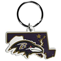 NFL Baltimore Ravens Home State Flexi Key Chain