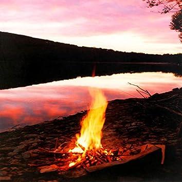 Cozy Massage near the Bonfire