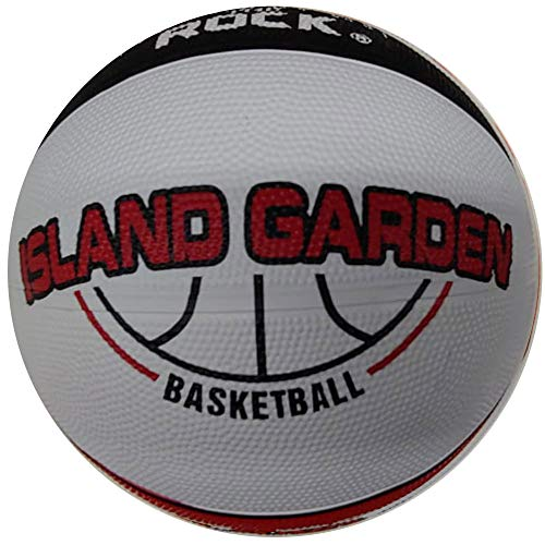 Buy Anaconda Sports The Rock (Island Garden) Basketball Indoor/Outdoor, Junior Official Size 5 Rubbe...