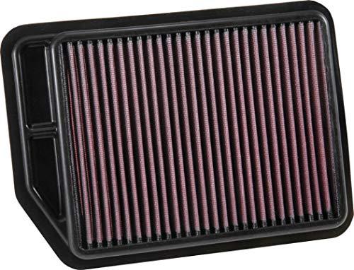 K&N エンジンエアフィルター 高性能 プレミアム 洗える 交換フィルター 2012-2017 CHANGAN (CS35) 33-3091