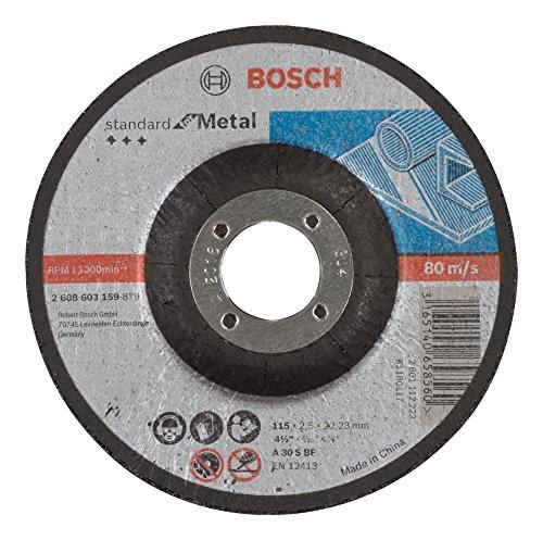 Bosch 2 608 603 159 - Disco corte acodado Standard