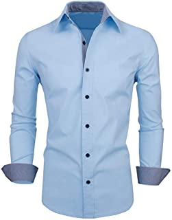 parth fashion Hub Men's Cotton Plain Casual Full Sleeve Regular Fit Shirt