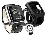 TomTom Golfer GPS-Uhr Premium Pack, schwarz