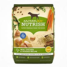 Rachael Ray Nutrish Premium Natural Dry Dog Food, Real Chicken & Veggies Recipe, 14 Pounds