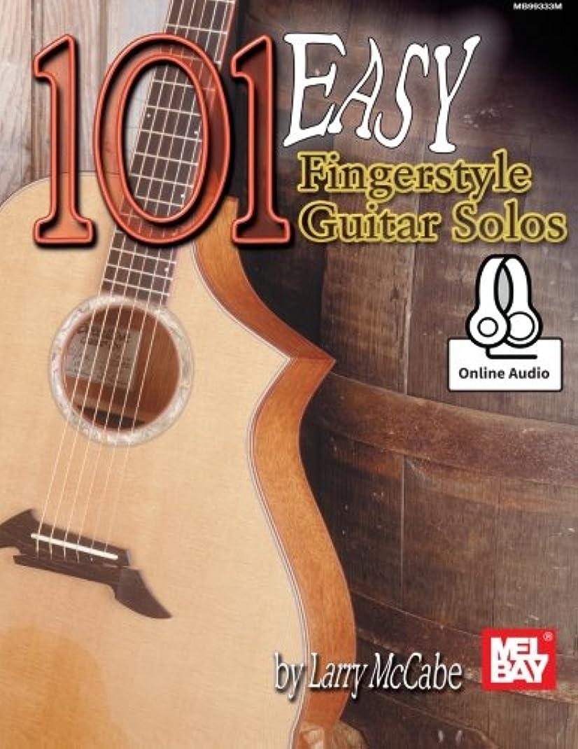 倒産聞く旋律的101 Easy Fingerstyle Guitar Solos: Includes Online Audio
