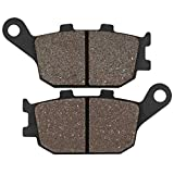 DUNGOKU- Motorcycle Rear Brake Pads For Kawasaki Klz 1000 For Versys 2012 2013 2015 2016 Z 1000 Z1000 2007 2008 2009 Zr1000 2007-2008 (1Pair)