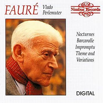 Fauré: Nocturnes, Barcarolle, Impromptu & Theme and Variations