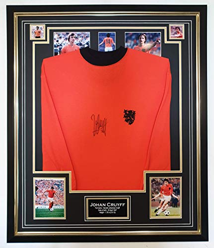 Signiertes Shirt von John Cruyff of Holland