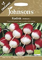 英国ミスターフォザーギルズシード&ジョンソンシード Organic Vegetables オーガニック・ベジタブルズ Radish Sparkler 2 ラディッシュ・スパークラー・2