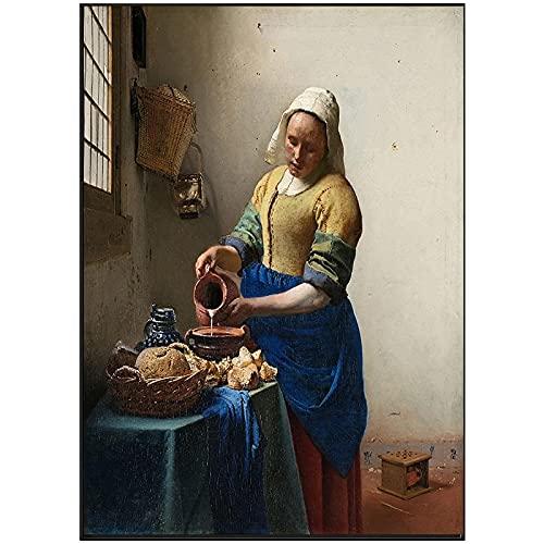 Impreso en lienzo clásico pintura