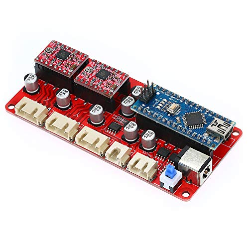 ROEAM Holzbearbeitung Laserengraver Steuerplatine ,Treiber Controller Board für CNC Graviermaschine 12 V DIY