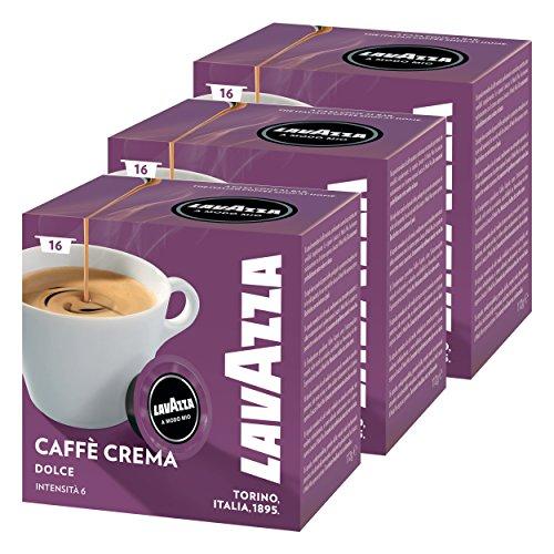 Lavazza A Modo Mio Lungo Dolce, Kaffee, Kaffeekapseln, Arabica, 48 Kapseln