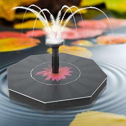 Naroote Automatische Brunnenpumpe, Brunnenzubehör Garden Water Park Plaza für Vogelbad Aquarium