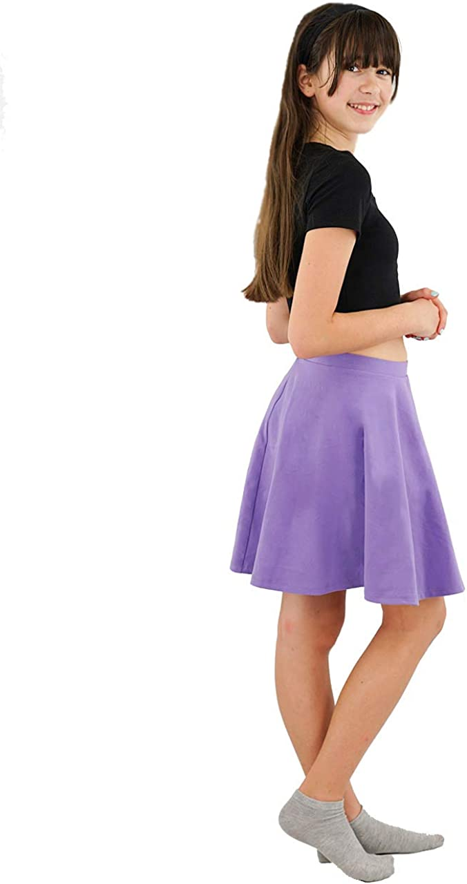 Vivian's Fashions Skirts - Cotton Don't miss the campaign Girls Japan Maker New Long Circle