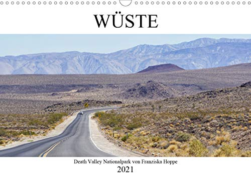 Wüste - Death Valley Nationalpark (Wandkalender 2021 DIN A3 quer)